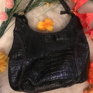 Alfred Dunner Patented & Leather Bag